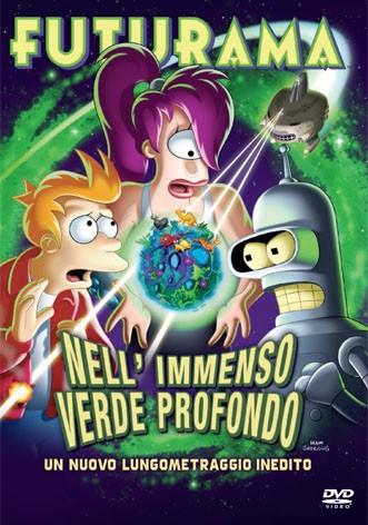 La copertina di Futurama - Nell'immenso verde profondo (dvd)