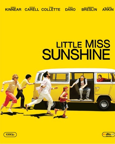La copertina di Little Miss Sunshine (blu-ray)