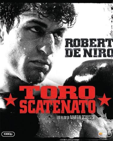 La copertina di Toro scatenato (blu-ray)