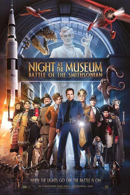 La locandina di Notte al museo 2: la fuga