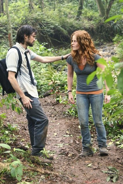 Rebecca Mader e Jeremy Davies nell'episodio This Place Is Death di Lost