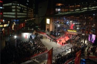 Un'immagine del Berlinale Palast e del tappeto rosso