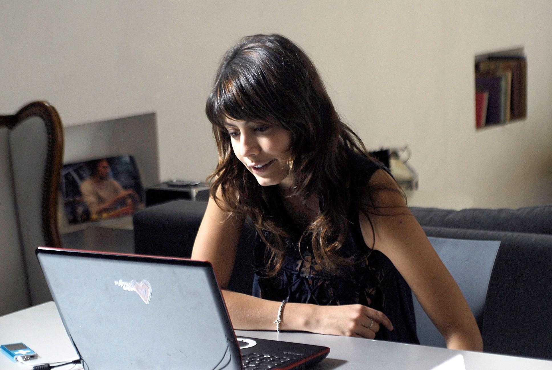 Alessandra Mastronardi in un wallpaper de I Cesaroni 3
