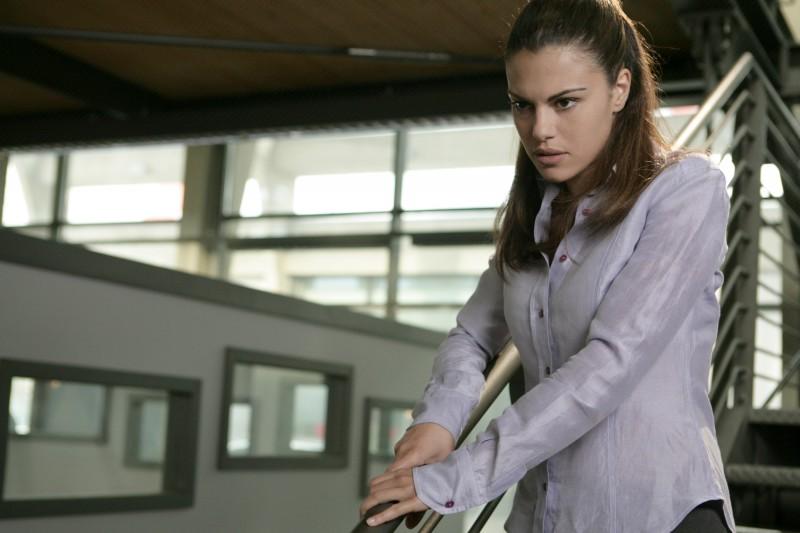 Bianca Guaccero in una scena dell'episodio Ossessione de Il bene e il male