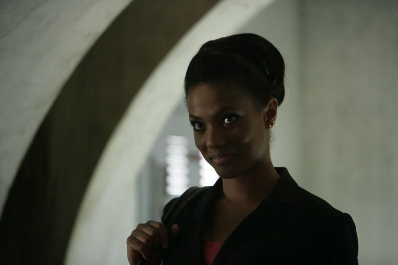 Freema Agyeman  in una scena dell'episodio 'Reset' della serie tv Torchwood