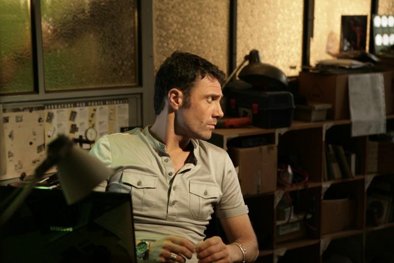 Marco Falaguasta in un momento dell'episodio Il concorso de Il bene e il male