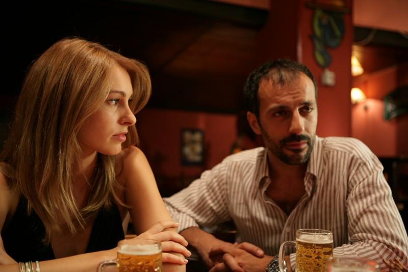 Marco Minetti in una scena dell'episodio Cambio vita de Il bene e il male