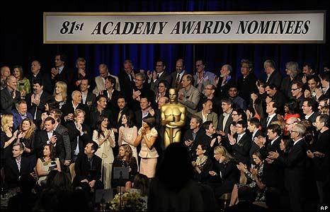 Oltre 100 candidati si sono incontrati lunedì 3 febbraio 2009 per il tradizionale Oscar Lucheon