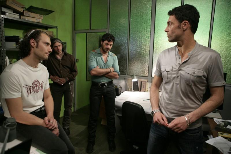 Una scena dell'episodio Il Concorso de Il bene e il male