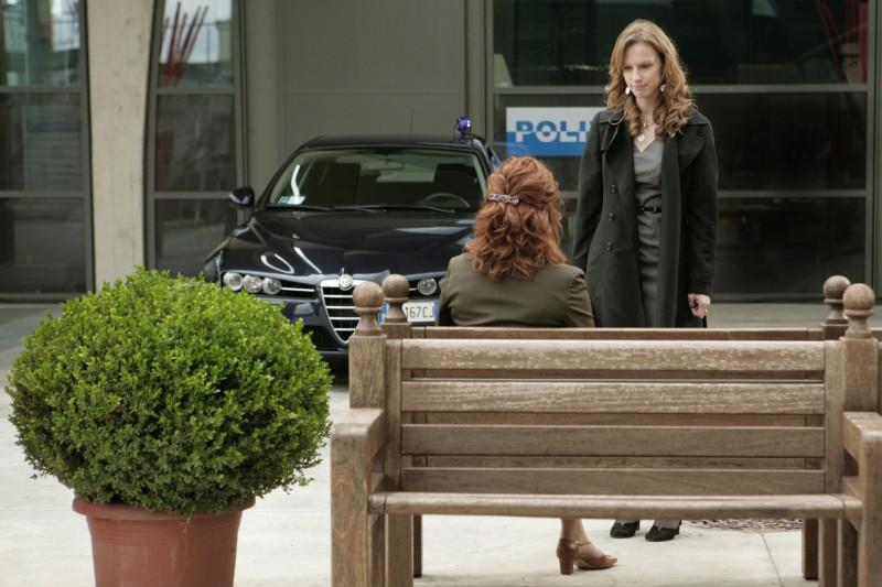 Una foto di scena dell'episodio Ossessione de Il bene e il male