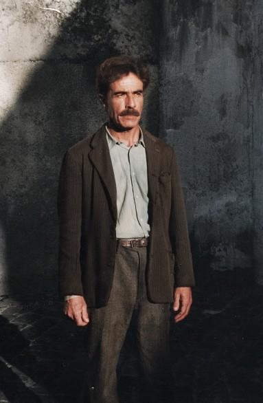 Biagio Barone in una scena del film Placido Rizzotto