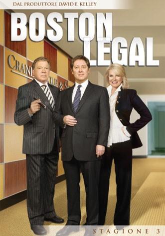 La copertina di Boston Legal - Stagione 3 (dvd)