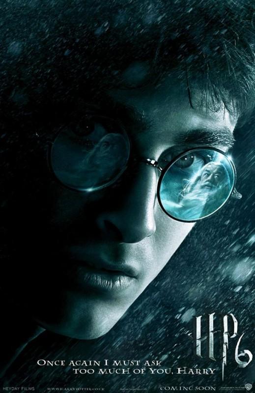 Un nuovo teaser poster internazionale di Harry Potter e il principe mezzosangue