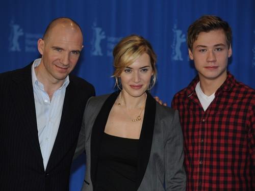 Joseph Fiennes, Kate Winslet e David Kross presentano The Reader al Festival di Berlino 2009