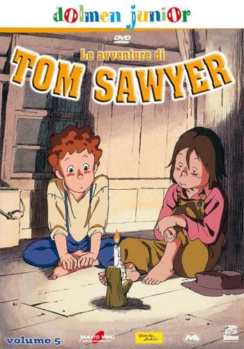 La copertina di Le avventure di Tom Sawyer vol. 5 (dvd)