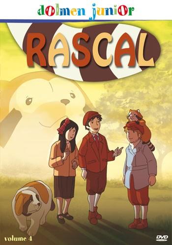 La copertina di Rascal vol.4 (dvd)