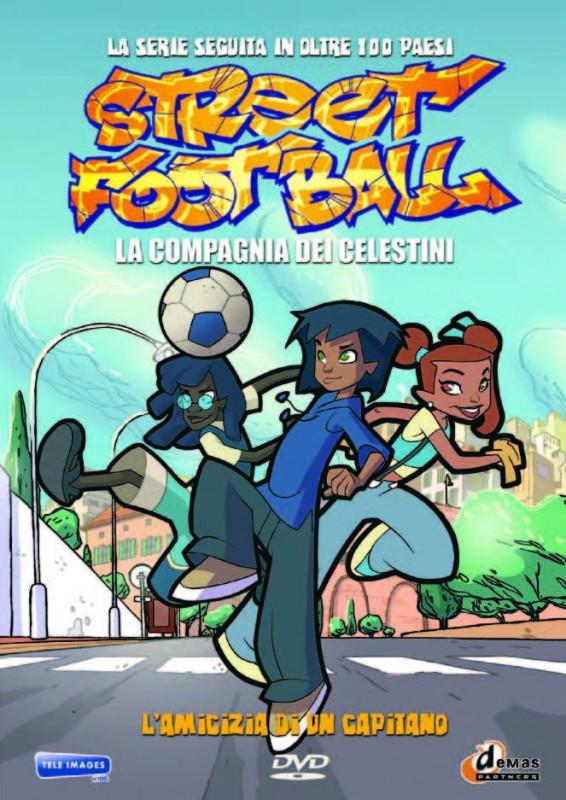 La copertina di Street Football - Vol. 1 - L'amicizia di un capitano (dvd)