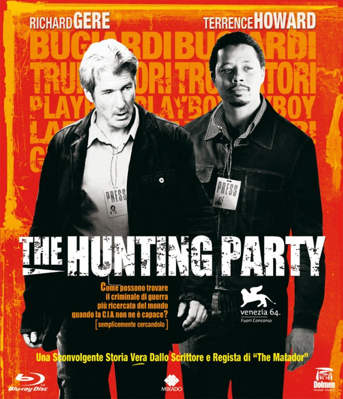 La copertina di The Hunting Party (blu-ray)