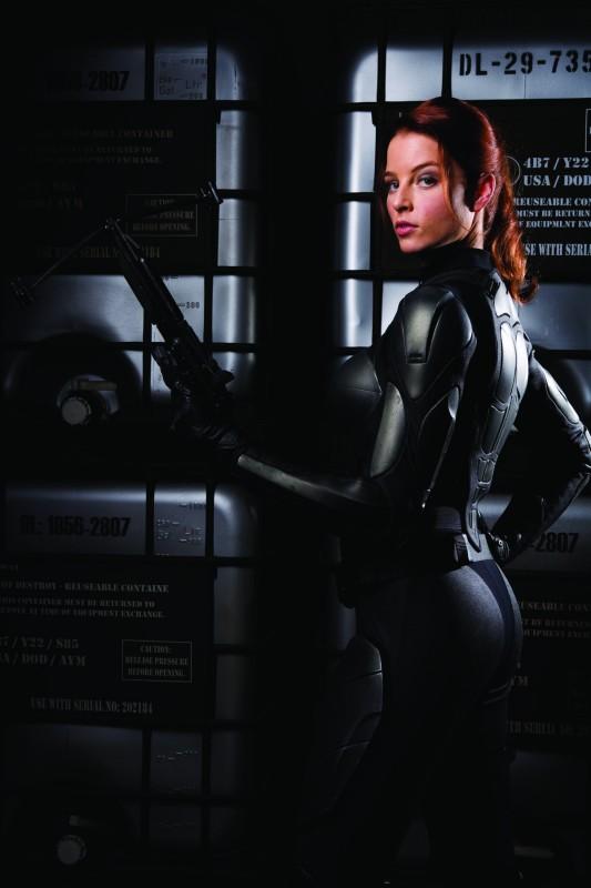 Rachel Nichols in un'immagine promozionale del film G.I. Joe: La nascita dei Cobra