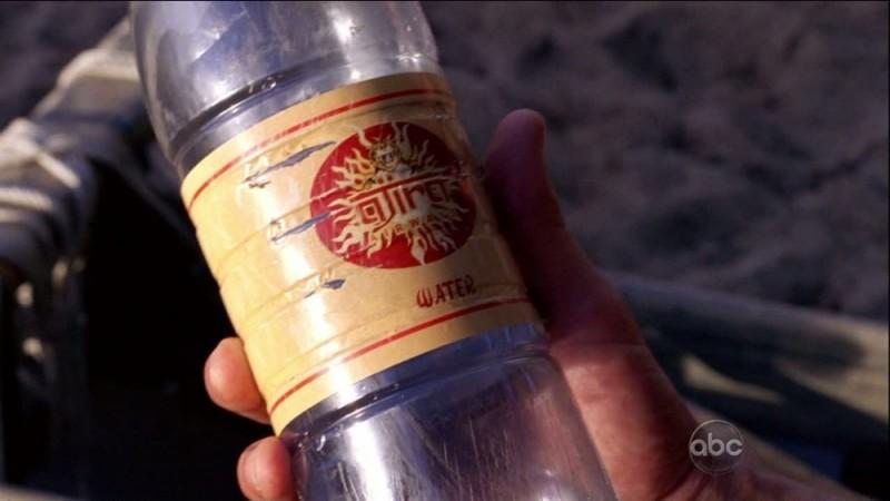 Un dettaglio del relitto in spiaggia nell'episodio The Little Prince di Lost