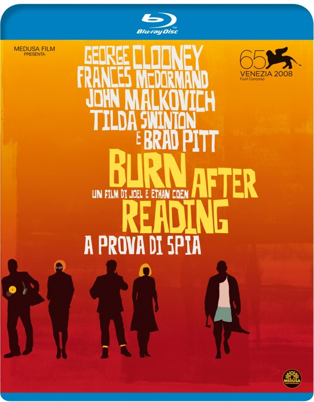 La copertina di Burn After Reading - A prova di spia (blu-ray)