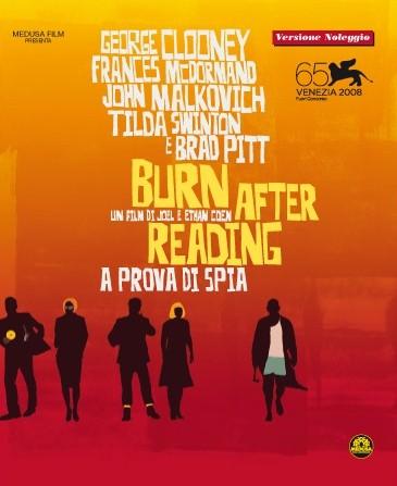 La copertina di Burn After Reading - A prova di spia (dvd)