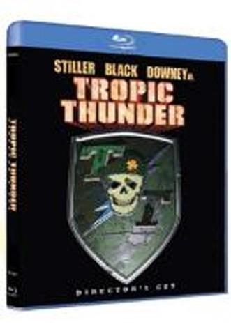La copertina di Tropic Thunder (blu-ray)