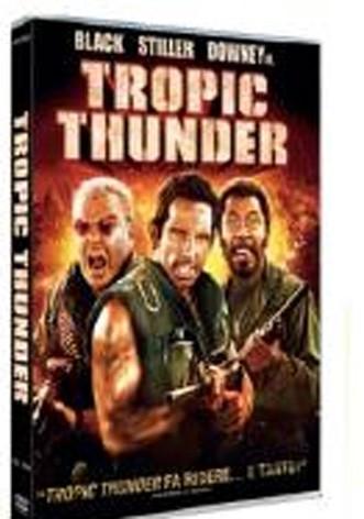 La copertina di Tropic Thunder (dvd)
