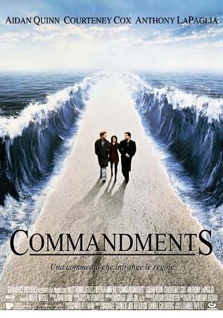 La locandina di Commandments