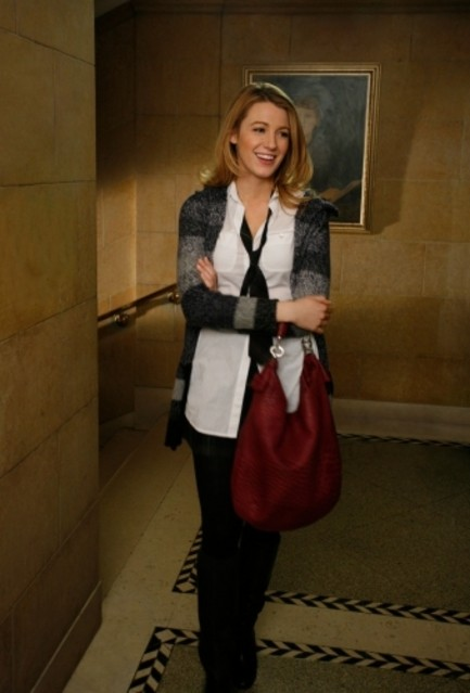 Blake Lively nell'episodio Carrnal Knowledge di Gossip Girl