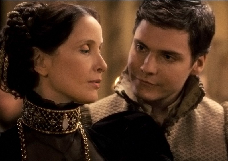 Julie Delpy accanto a Daniel Brühl in The Countess