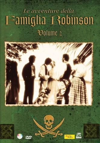La copertina di Le avventure della famiglia Robinson - Vol. 2 (dvd)