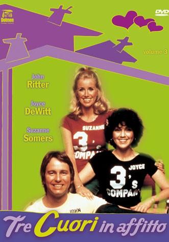 La copertina di Tre cuori in affitto - Stagione 3 (dvd)