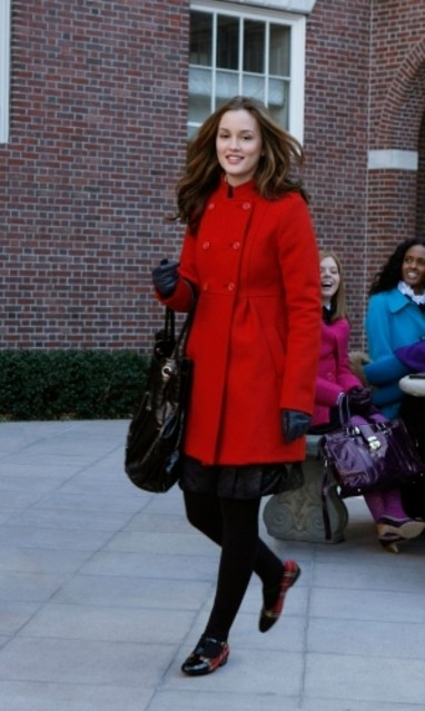 Leighton Meester in una scena dell'episodio Carrnal Knowledge di Gossip Girl