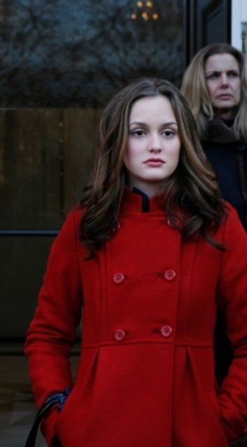 Leighton Meester nell'episodio Carrnal Knowledge di Gossip Girl