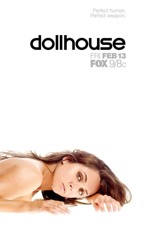 Un poster della nuova serie creata da di Joss Whedon Dollhouse