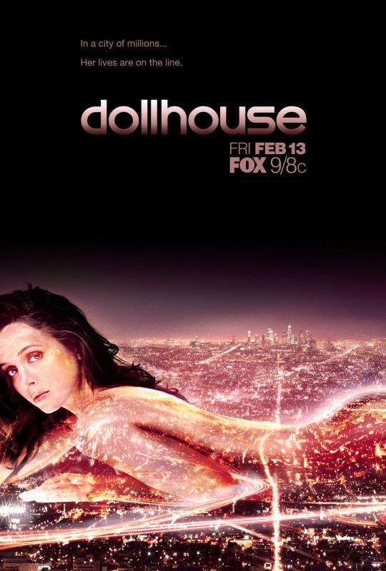 Un poster della nuova serie tv di Joss Whedon Dollhouse