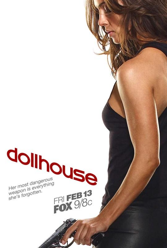 Un poster promozionale di Dollhouse, la nuova serie creata da di Joss Whedon