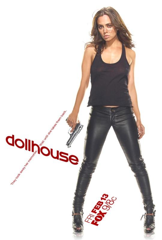 Uno dei poster della serie tv Dollhouse