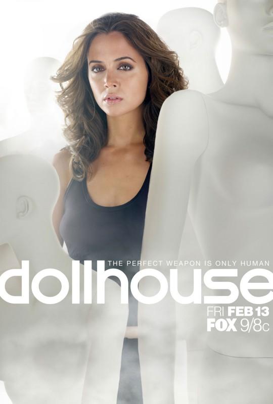 Uno dei poster promozionali della serie tv Dollhouse