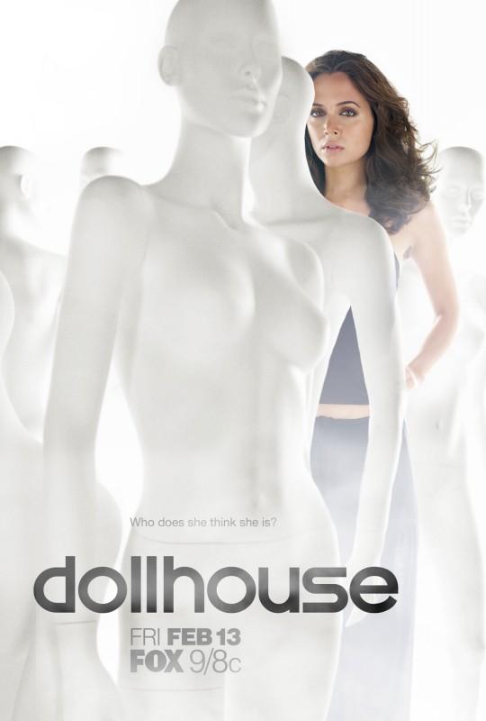 Uno dei poster promozionali di Dollhouse, il nuovo serial creato da di Joss Whedon