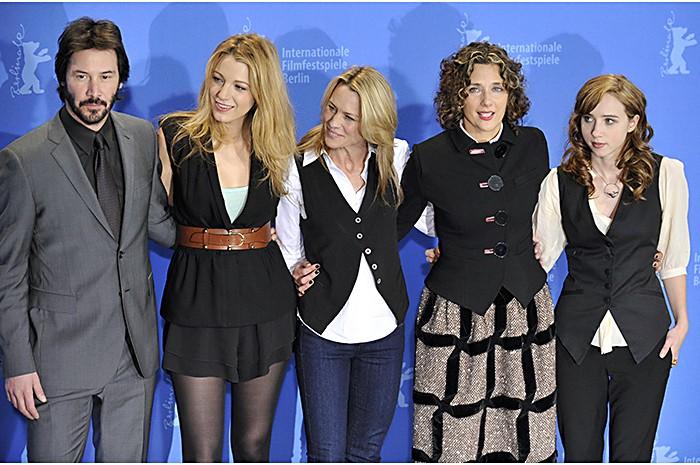 59esimo Festival di Berlino: Robin Wright Penn, Blake Lively, Rebecca Miller, Keanu Reeves, Zoe Kazan presentano The Private Lives of Pippa Lee