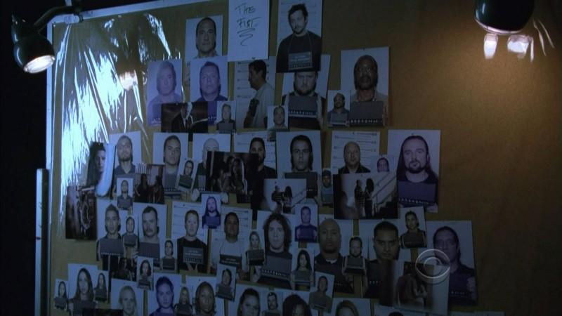 Un'immagine tratta dall'episodio Disarmed and Dangerous di CSI