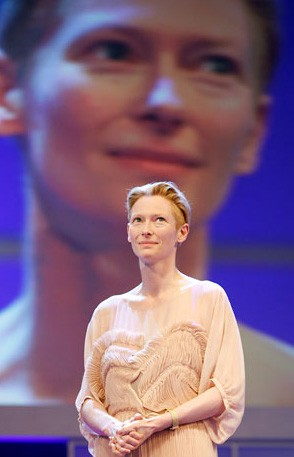 Berlinale 2009: l'attrice Tilda Swinton