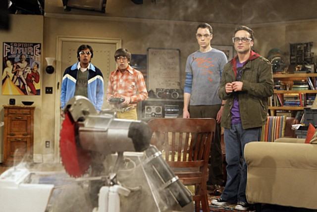 Una scena dell'episodio The Killer Robot Instability di The Big Bang Theory