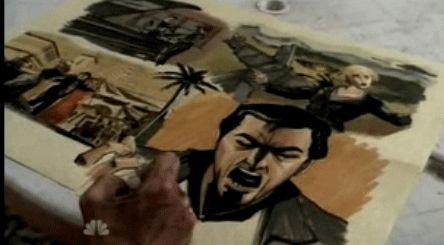 Una scena di Trust and Blood della terza stagione di Heroes