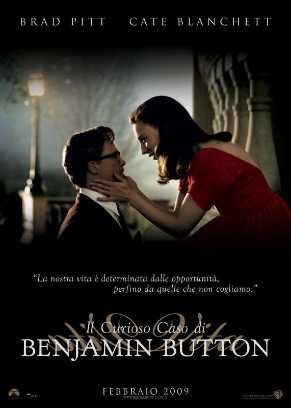 versione italiana di uno dei poster realizzati per Il curioso caso di Benjamin Button