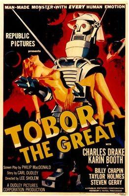 La locandina di Tobor the Great
