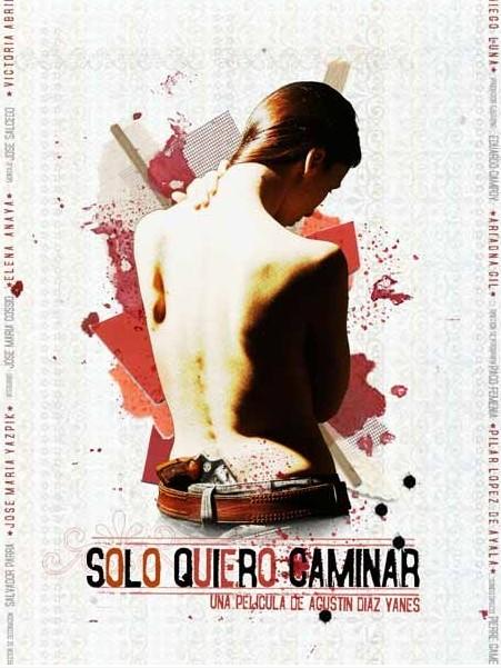Locandina spagnola di Solo quiero caminar