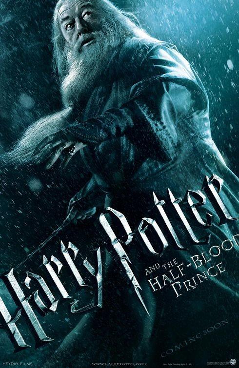 Character Poster per Harry Potter e il principe mezzosangue - Albus Silente